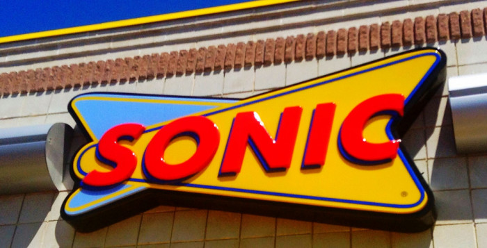 the sonic drive-in sign