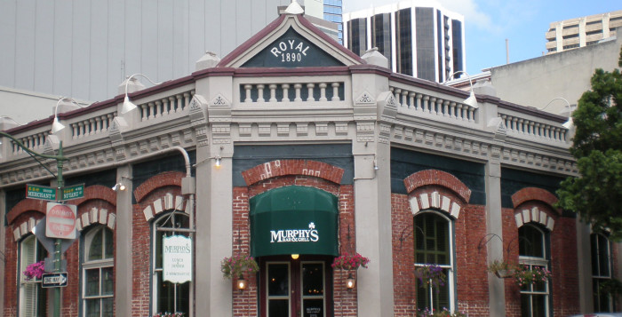 an outside shot of murphy's bar and grill