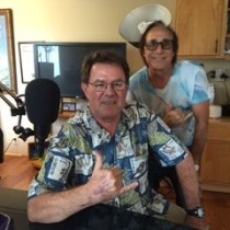 Bruce Fisher and Denton Bangs in studio