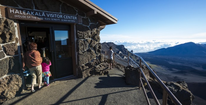 visitor center at haleakala
