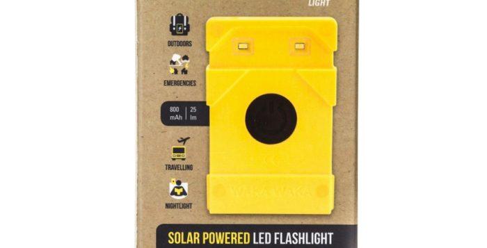 Waka Waka solar charger box