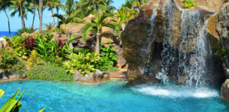 the pool at the grand wailea resort on maui
