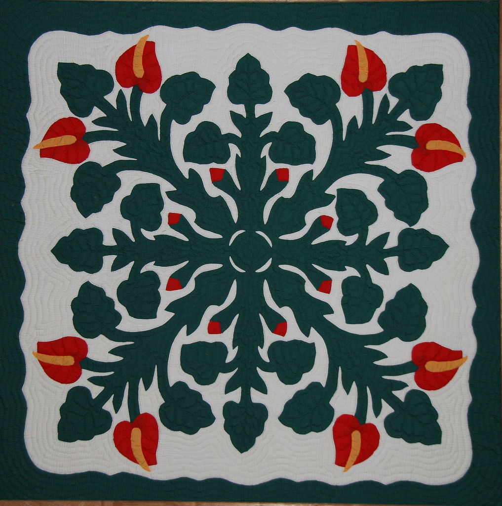 Hawaiian quilting classes for the crafty visitor to hawaii