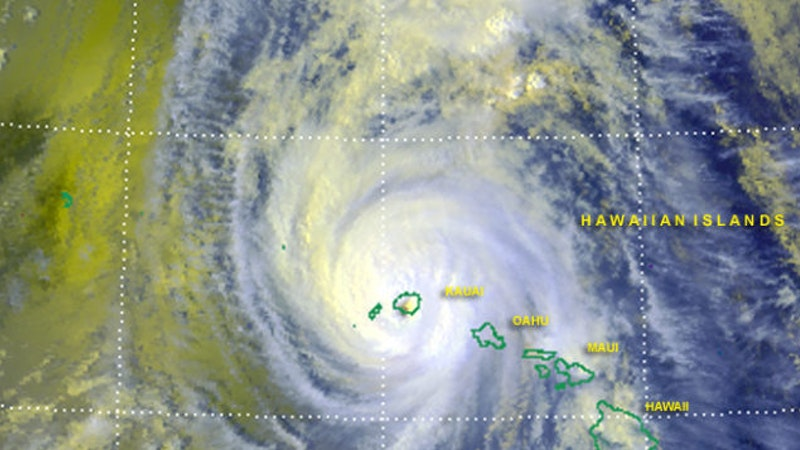 details of the origin and devastation of hurricane iniki in hawaii Hurricane lane, the rare storm battering the hawaiian islands this week, could cause heavy steam and the last time such a huge storm attacked hawaii was in 1992, when hurricane iniki landed as a coral are critically important here in hawaii, culturally, economically, ecologically, for seafood.