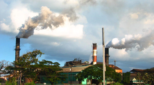 a sugar mill on maui