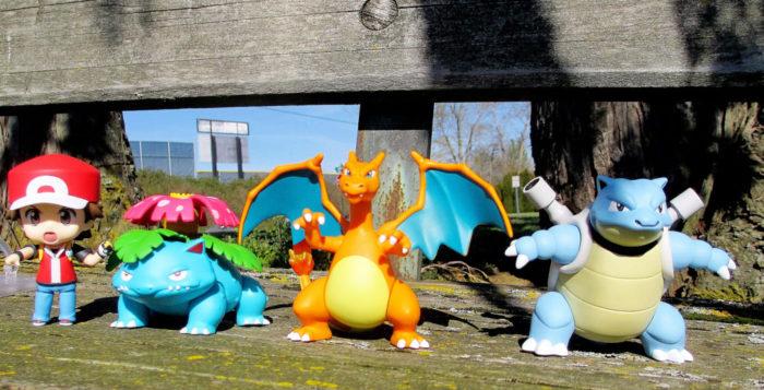 Pokémon Go characters