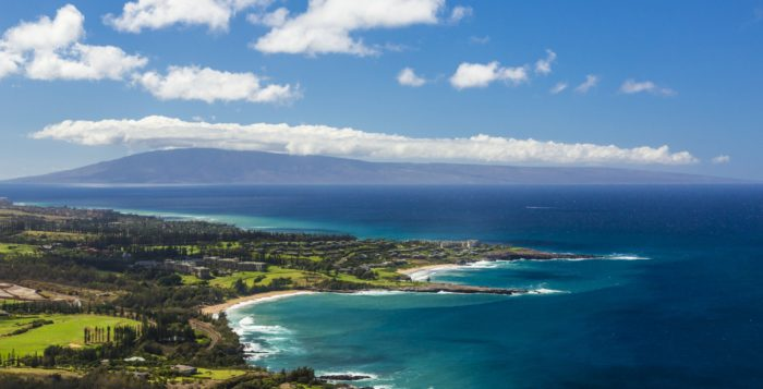 the kapalua coastline on maui