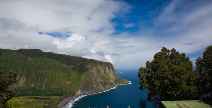 a view of waipio valley on the big island in hawaii