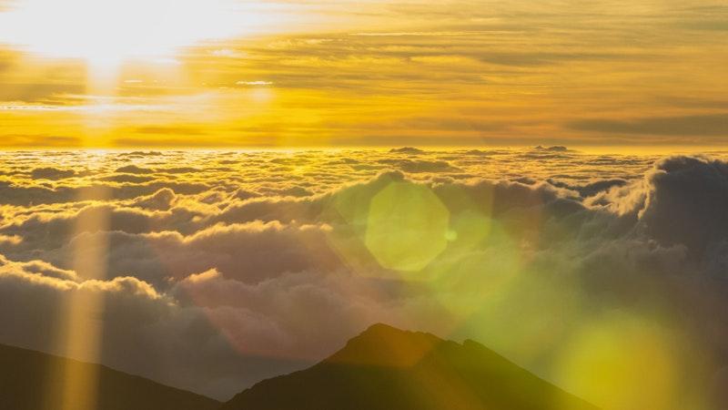 Sunrise Vs. Sunset at Haleakala on Maui