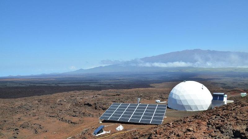 Mars Exploration on Mauna Kea in Hawaii?