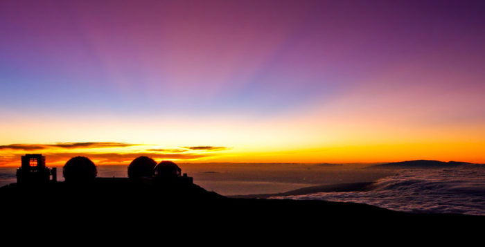 mauna kea at night
