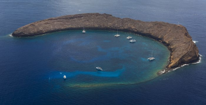 molokini in hawaii