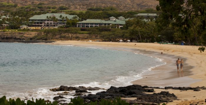 manele bay on lanai