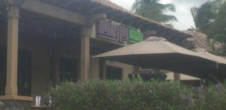 an exterior of a restaurant