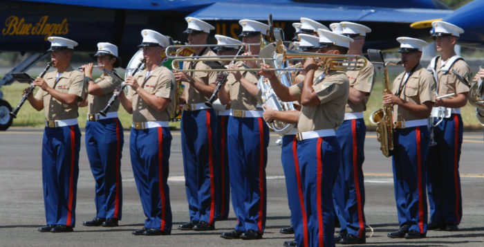 the u.s. marine corps forces band
