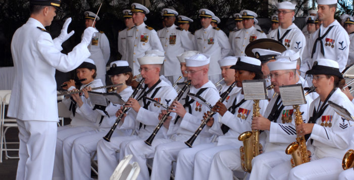 the pacific fleet band