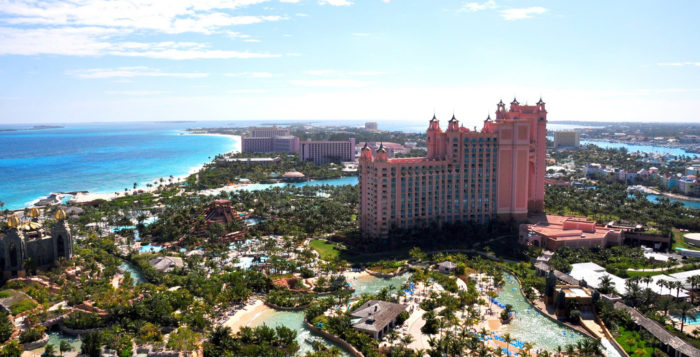 View of the Atlantis Bahamas