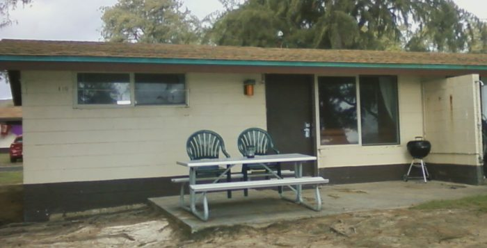 duplex cabin at Bellows AFB