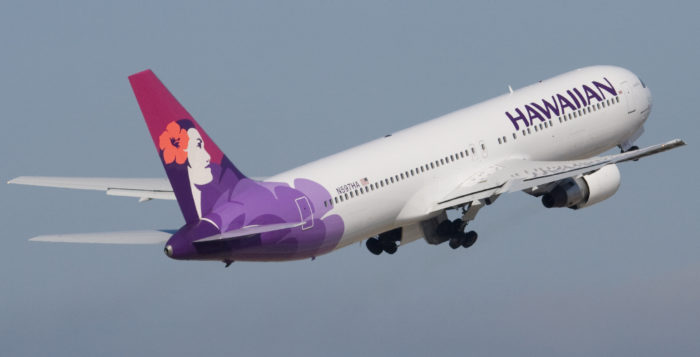Hawaiian Airline jet