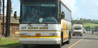 Robert Hawaii tour bus