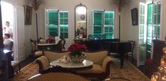 a room in a victorian era home