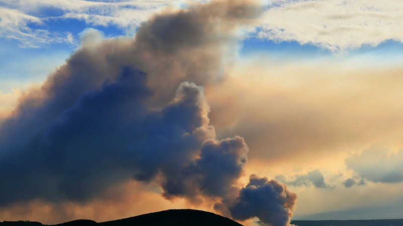 Have Asthma? Reconsider Seeing Lava in Hawaii