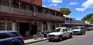Front Street in Lahaina, Maui