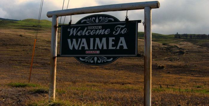 Waimea sign