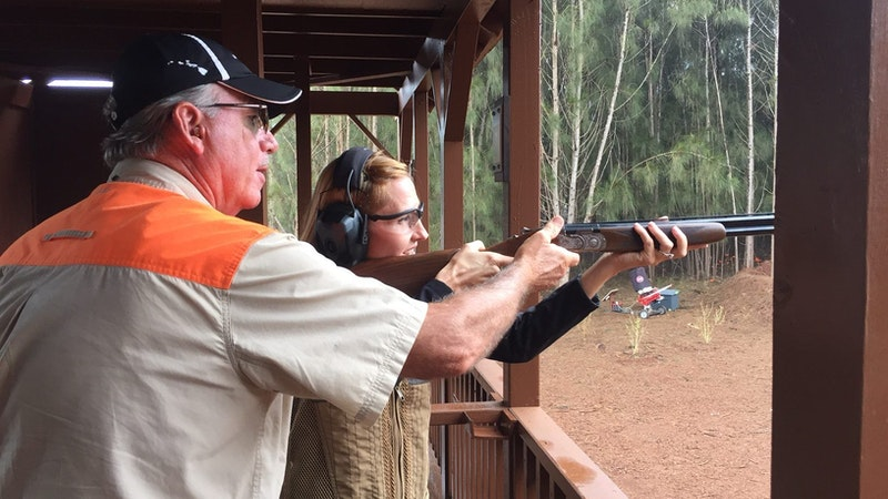 BULLSEYE! Lanai Archery and Sporting Clays Hit the Spot