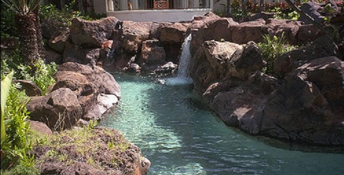 Lazy river Hyatt Regency Kauai