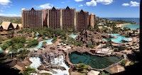 Aerial of Disney Aulani Resort