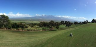 Haleakala as seen from West Maui