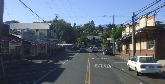Downtown Makawao