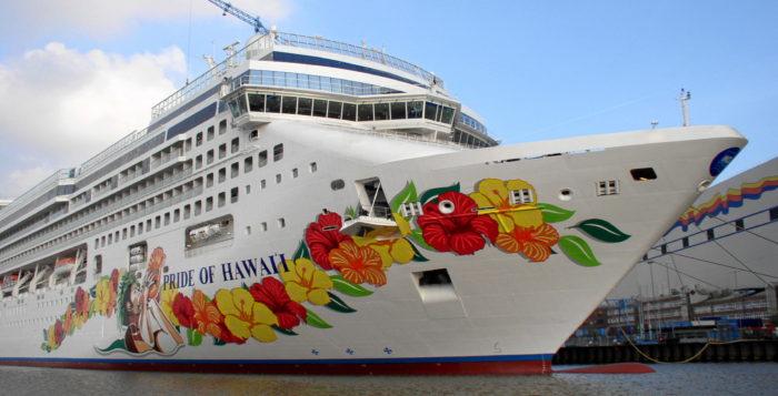 Photo of Pride of Hawaii cruise ship