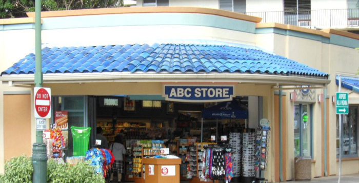 Corner ABC store