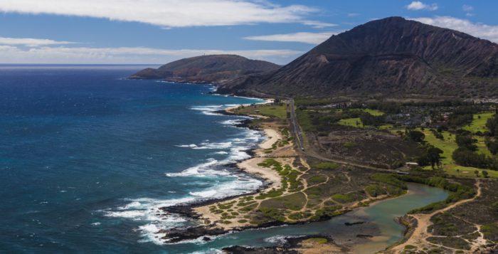 Ka Iwi Coastline on Oahu