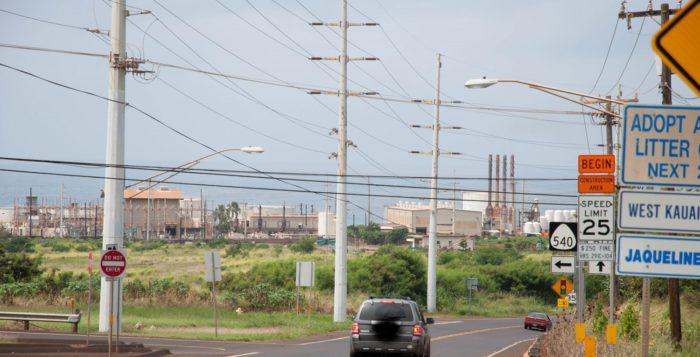 Port Allen industrial area