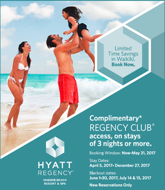 Regency club offer