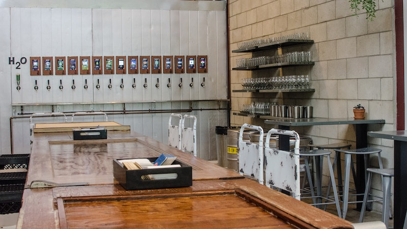 Drink beer and strengthen the community at Grace in Growlers in Kailua