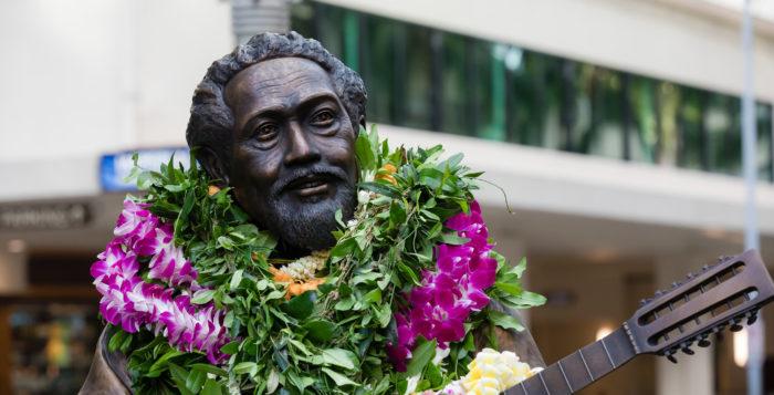 A statute of Philip Kunia