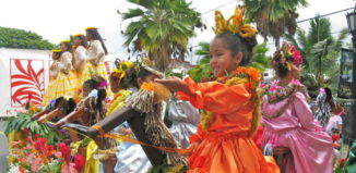 King Kamehameha Day Celebration in Kailua-Kona, Hawaii.