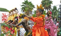 King Kamehameha Day Celebration in Kailua-Kona, Hawaii.