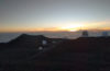 Watching the sunset from 14,000 feet above sea level on Mauna Kea. We were above the clouds! Afterwards, we went stargazing on Mauna Kea.