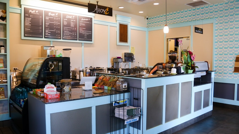 Get your coffee fix at The Curb