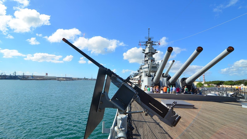 History comes alive at The USS Missouri Memorial