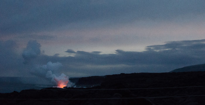 One of the coolest things that you could do on the Big Island - see lava pouting into the ocean - is also free, if you walk there yourself.