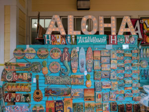 These signs are available to purchase outside the Dole Plantation and make great souvenirs.