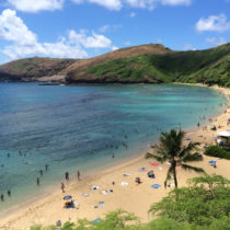 Hanauma Bay is an ideal snorkeling spot , and it is a great beach to spend the day at. We can include a trip to Hanauma Bay through our all-inclusive vacation packages. Call us today to learn more!