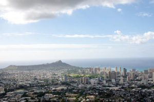 The top of Mount Tantalus