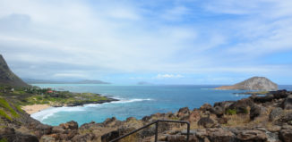 Makapuu Lookout is one of the many beautiful lookout points on Oahu that you can drive to.